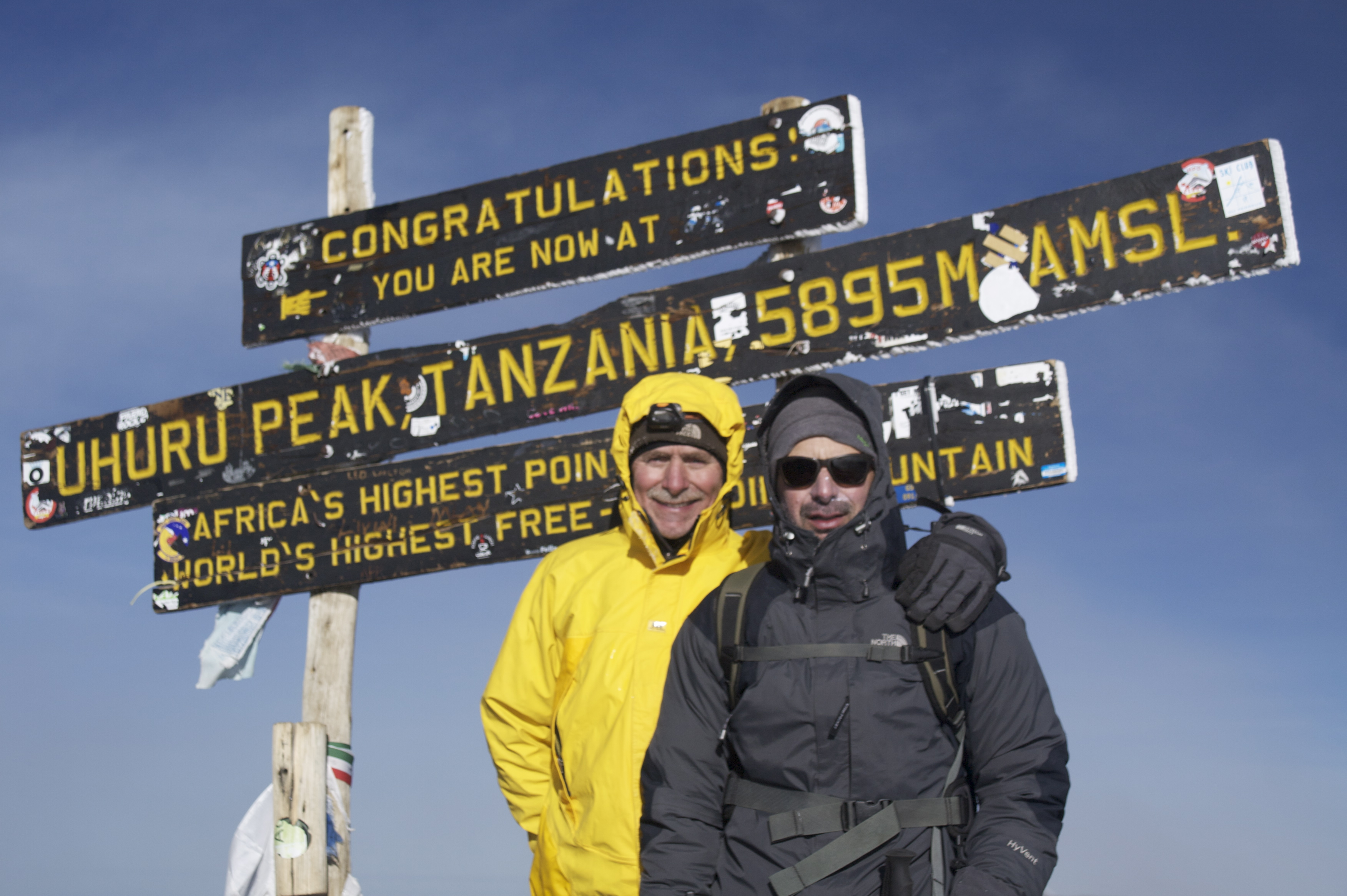 Mount Kilimanjaro Has New Sign on the Summit