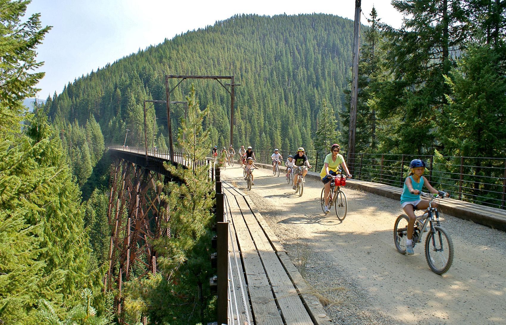 Biking in Idaho on Fantastic Trails