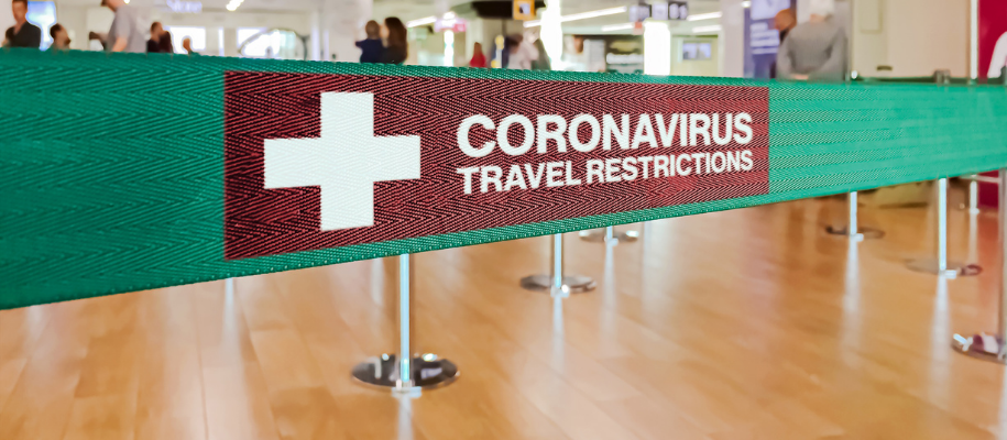 Inbound Travel Restrictions Due To COVID Pandemic